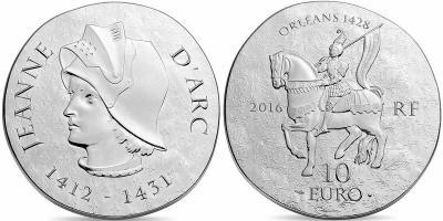 Жанна Д`Арк 10 евро  2016.jpg