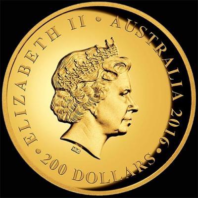 Австралия, 200 долларов 2016 года, 90 лет королеве (аверс).jpg
