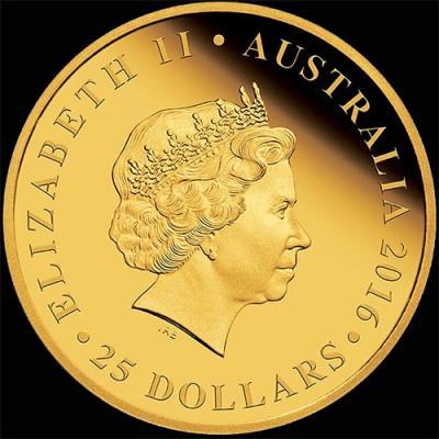 Австралия, 25 долларов 2016 года, 90 лет королеве (аверс).jpg