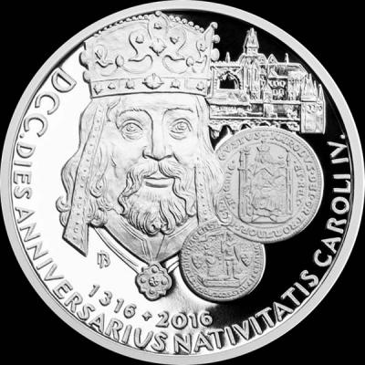 Остров Ниуэ 2 доллара 2016 года реверс « Карл IV ».jpg