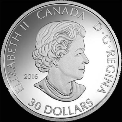 Канада, 2016 год, 30 долларов (аверс).jpg