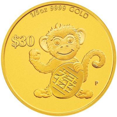 Тувалу 2016 30 долларов  «Год обезьяны» (реверс).jpg