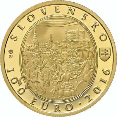 Словакия 100 евро 2016 275-летие коронации Марии-Терезии (аверс).jpg