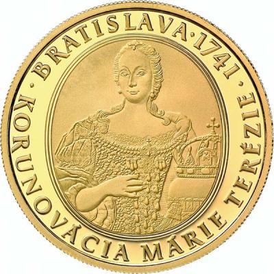 Словакия 100 евро 2016 275-летие коронации Марии-Терезии (реверс).jpg
