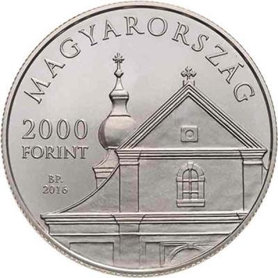 Венгрия 2000 форинтов 2016 года 1700 лет со дня рождения  святого Мартина (аверс).jpg