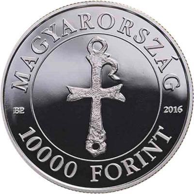 Венгрия 10000 форинтов 2016 года 1700 лет со дня рождения  святого Мартина(аверс).jpg