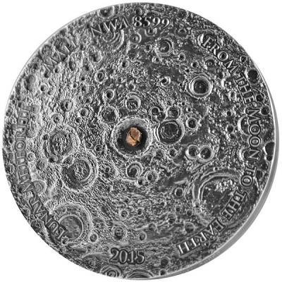 Мали 5000 франков 2015 «Метеорит NWA 8599» (реверс).jpg