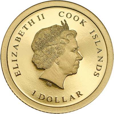 Острова Кука 1 доллар золото  (аверс).jpg