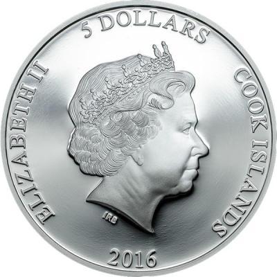 Острова Кука 5 долларов 2016 года (реверс).jpg