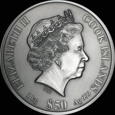 Острова Кука 50 долларов  1 кг(аверс).jpg