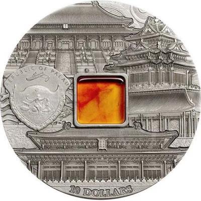 Палау 2015 – 10 Долларов – Тиффани. Запретный город в Пекине.jpg