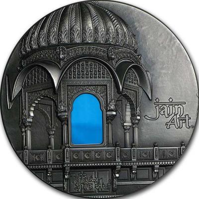 Палау 10 Долларов 2016 года Тиффани. Храм Амар Сагар (реверс).jpg