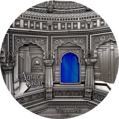Палау 50 Долларов 2016 года Тиффани. Храм Амар Сагар (реверс).jpg