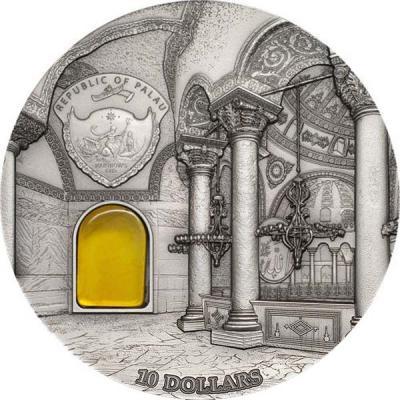 Палау 10 Долларов 2016 года Стамбул. собор Святой Софии (аверс).jpg