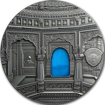 Палау 10 Долларов 2016 года Тиффани. Храм Амар Сагар (аверс).jpg
