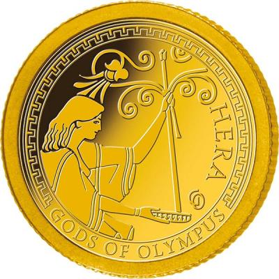 Самоа 1 доллар 2016 года Боги Олимпа (Гера).jpg