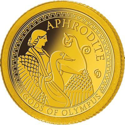 Самоа 1 доллар 2016 года Боги Олимпа (Афродита).jpg