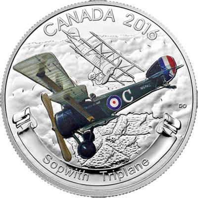 Канада 20 долларов 2016 Sopwith Triplane (реверс).jpg