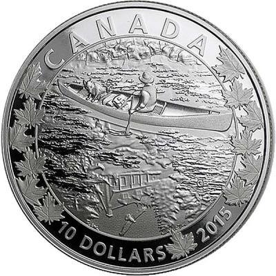 Канада набор 6Х10 долларов «По всей Канаде на каноэ» 6.jpg