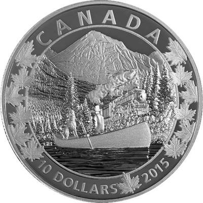 Канада набор 6Х10 долларов «По всей Канаде на каноэ» 1.jpg