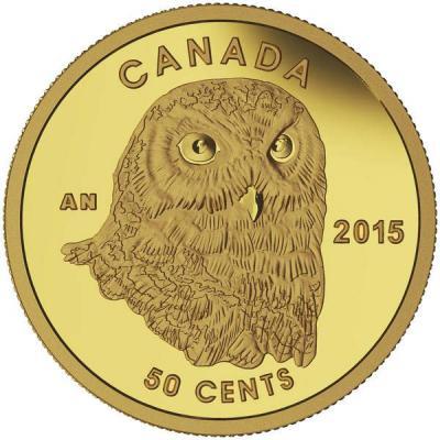 Канада 50 центов 2015 года «Сова».jpg