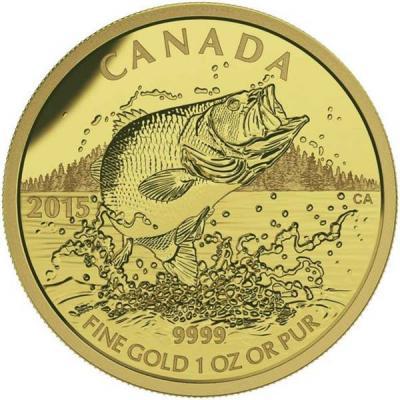 Канада 200 долларов 2015 года «Окунь».jpg