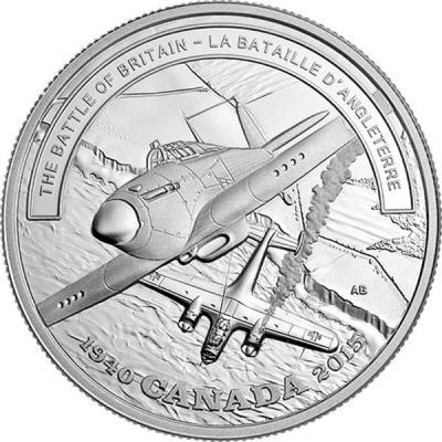 Канада 20 долларов 2015 Вторая мировая «Герои в небе».jpg