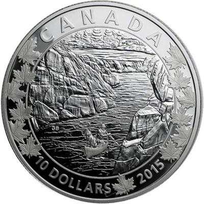 Канада набор 6Х10 долларов «По всей Канаде на каноэ» 3.jpg