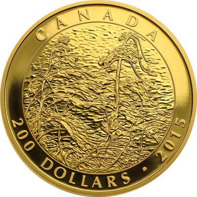 Канада 200 долларов 2015 года «картина Тома Томсона остров Пайн-Айленд».jpg