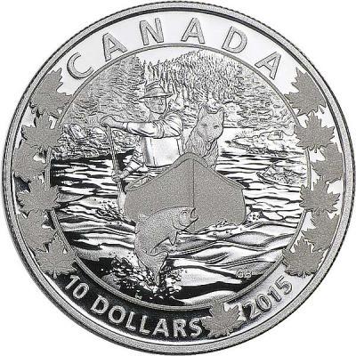 Канада набор 6Х10 долларов «По всей Канаде на каноэ» 2.jpg