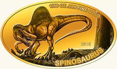 Мали 100 франков 2015 Спинозавр.jpg