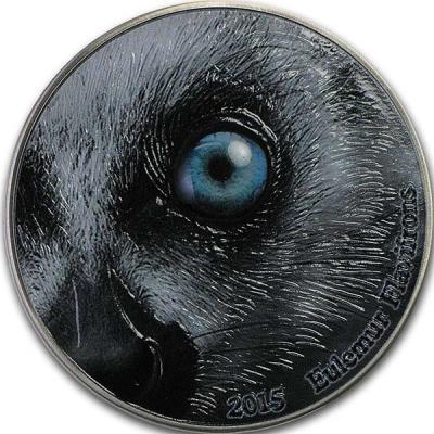 Конго 2000 франков КФА Глаза природы Черный Лемур.jpg
