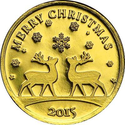 Конго 100 франков, 0,5 гр.  «Новый год».jpg