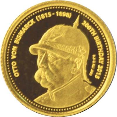 Конго 100 франков 2015 года «Отто фон Бисмарк».jpg