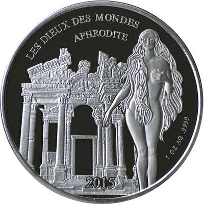 Буркино Фасо 1000 франков 2015 Афродита.jpg