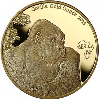 Конго 10 000 франков, золото «Горилла».jpg