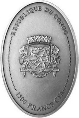 Конго 1500 франков - овальная монета (реверс).jpg