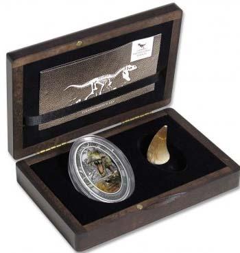 Конго 1500 франков - Тираннозавр Рекс (упаковка).jpg