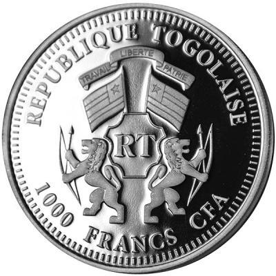 Тоголезская Республика 1000 франков (аверс).jpg