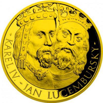 Ниуэ 100 долларов 2016 «Карл IV. и Иоанн Люксембургский» (реверс).jpg