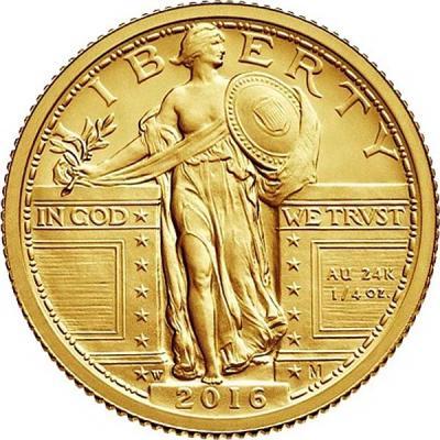 США 25 центов 2016 года «100 лет   Liberty» (аверс).jpg