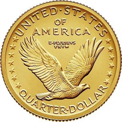 США 25 центов 2016 года «100 лет   Liberty» (реверс).jpg