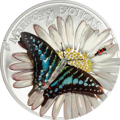 Экваториальная Гвинея 1000 Франков 2015 Экзотические бабочки.jpg