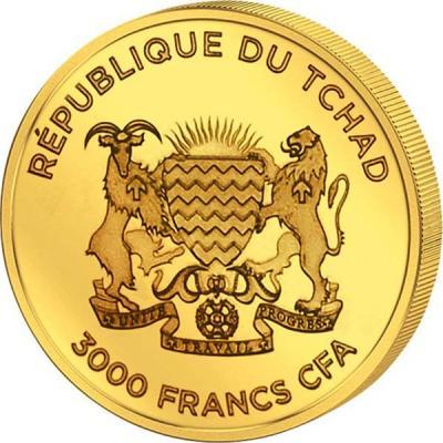 Чад 3000 франков золото (аверс).jpg