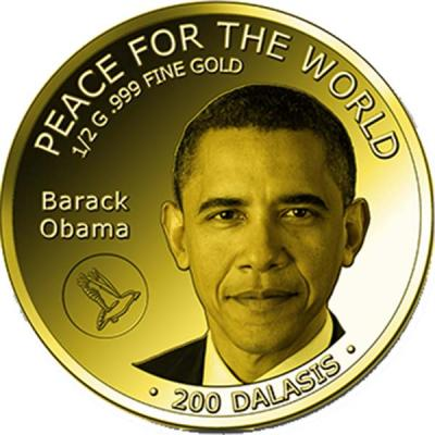 Гамбия 200 даласи 2015 года «Обама».jpg