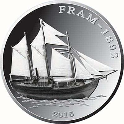 Конго 1000 франков 2015 «Фрам».jpg