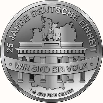 Чад 500 франков (25 лет Объединение Германии).jpg