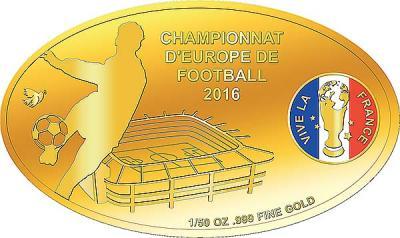 Конго 100 франков золото (Чемпионат Европы по футболу 2016).jpg