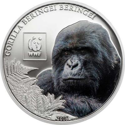 Танзания 100 шиллингов 2016 Горилла.jpg