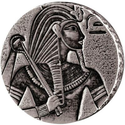 Чад 3000 франков КФА 2016 «Тутанхамон» (реверс).jpg